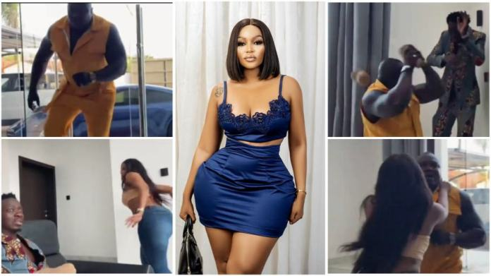 SA actress Tebogo Thobejane caught red-handed cheating with Michael Blackson  [video]