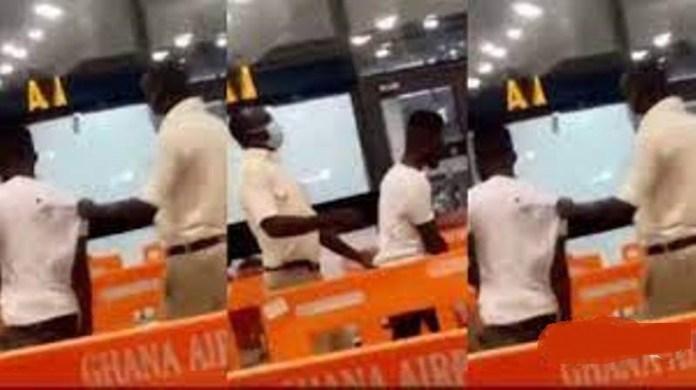 Man storms Kotoka International Airport