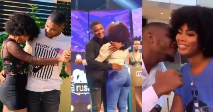 Dzato and Grace of Date Rush spotted 'chopping love' at plush locations in video