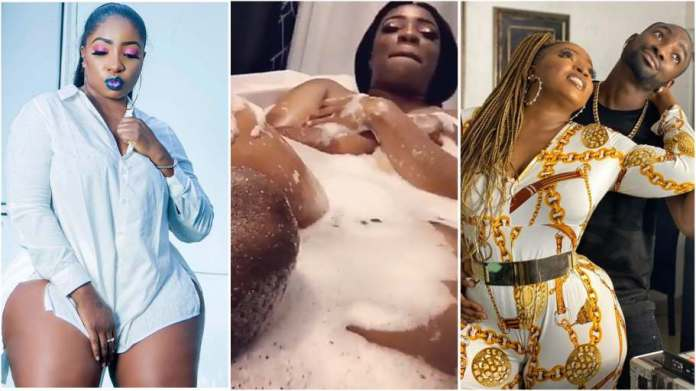 Actress Anita Joseph shares videos of herself and her husband in a bathtub
