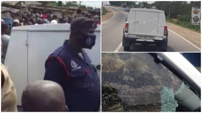 Bullion van robbery Ghana
