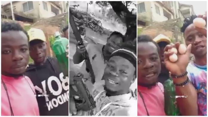 Gun-wielding men break silence on viral video