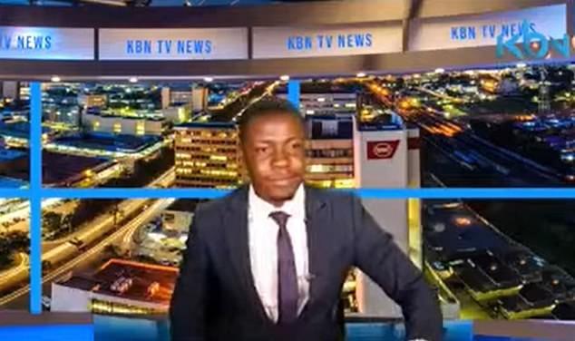 news anchor demand salary on live TV