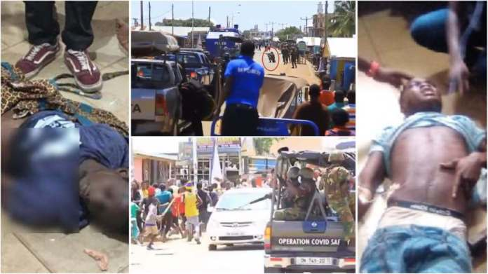 Kaaka's murder: 2 shot dead as youth clash with police and military at Ejura