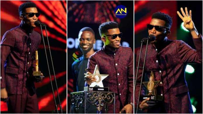 Kofi Kinaata wins VGMA Songwriter of the Year