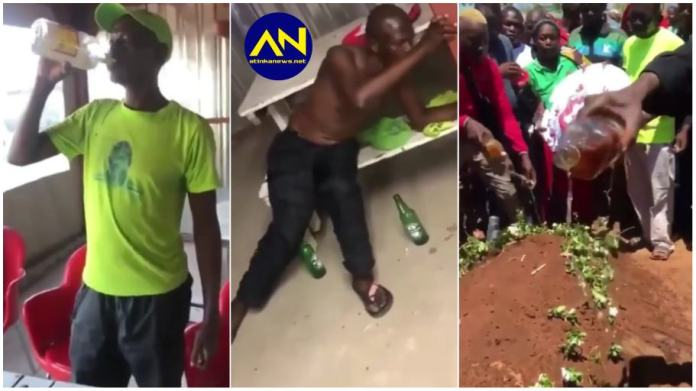 Man dies shortly after drinking a bottle of Spirit for a bet