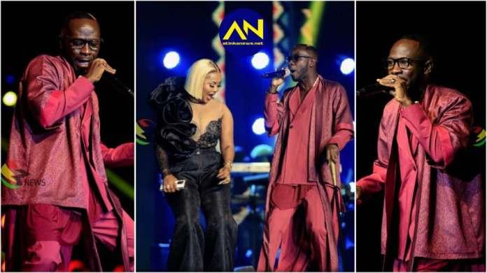 Nana Ama McBrown and Okyeame Kwame