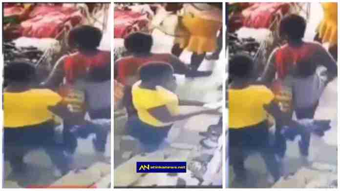 trick these ladies used to steal baby dresses in a shop
