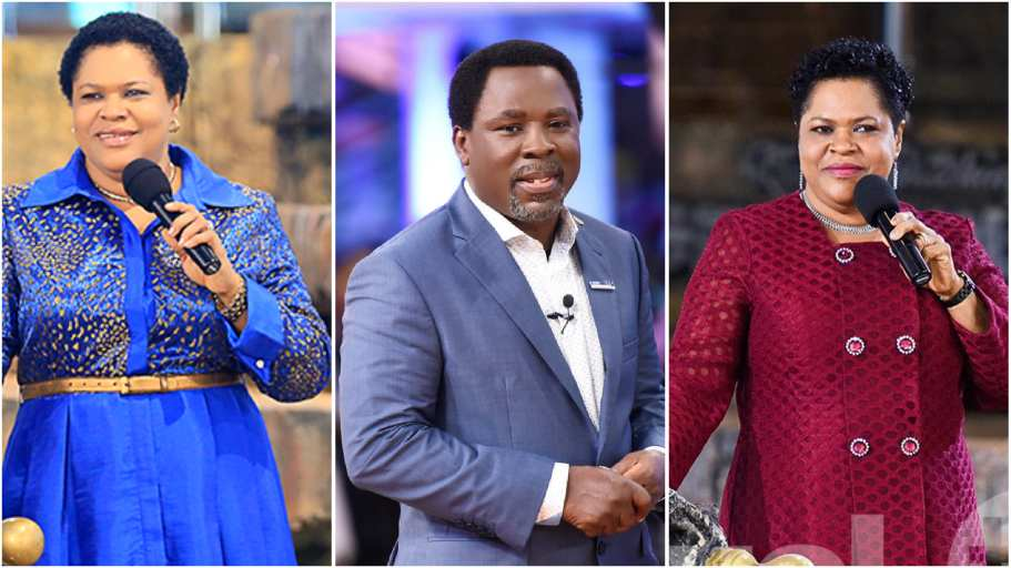TB Joshua's wife opens up about her husband's death