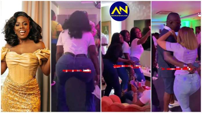 everything that went down at Nana Aba  birthday party