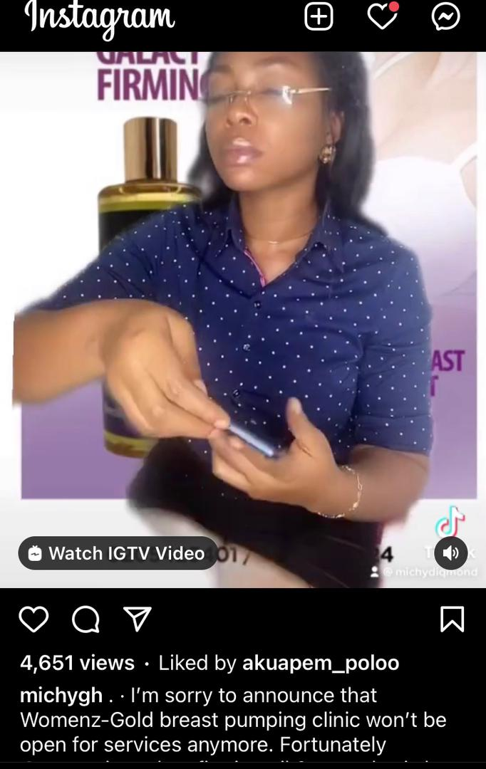 Michy reacts to Shatta Wale's cousin