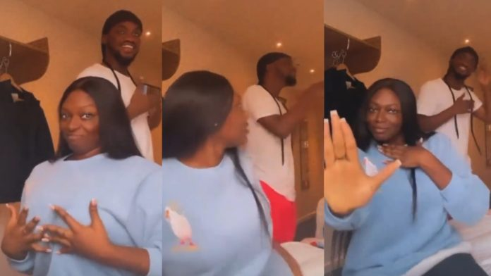 Party in the park: Lovely vibe of Mr Drew and Sefa in their Hotel room hit online [Video]