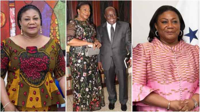 First Lady to refund GhS899,097 allowances paid her, rejects salary payment