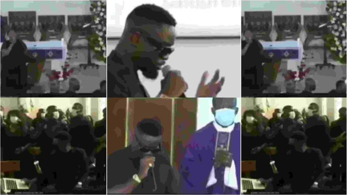 Sarkodie performed a rap tribute to bid Dr. Joseph Felix Boateng Otchere-Darko