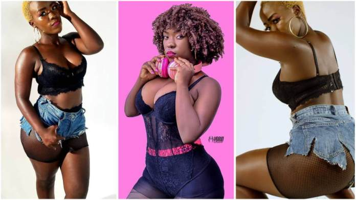 Upcoming female artiste Belta K l£aks own video for cash [Watch]