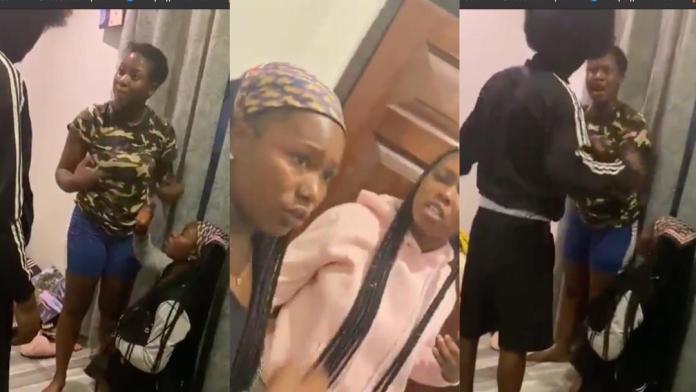 Man threatens to slap girlfriend if she attacks his sidechick