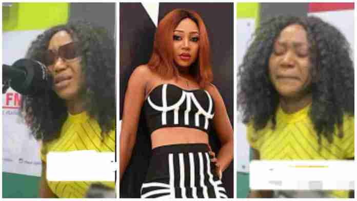 Akuapem Poloo bursts into tears as she exposes Ghanaian celebs who have tried to block their shine in Nigeria