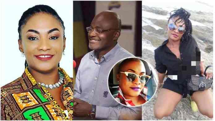 baby mama of Kennedy Agyapong