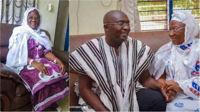 Mahamudu Bawumia mourns as she loses beloved mother