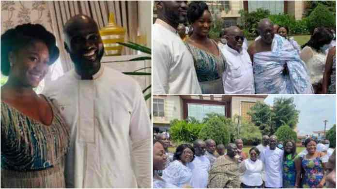 Flagstaff House is now used for the wedding ceremony for Akufo - Addo's daughter - NDC man