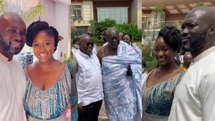 He didn't know her dad was Nana Addo when they met' - Kofi Jumah on son's marriage