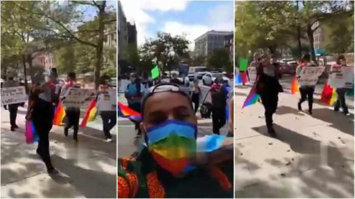Protests held in New York, California against Ghana anti-LGBT bill