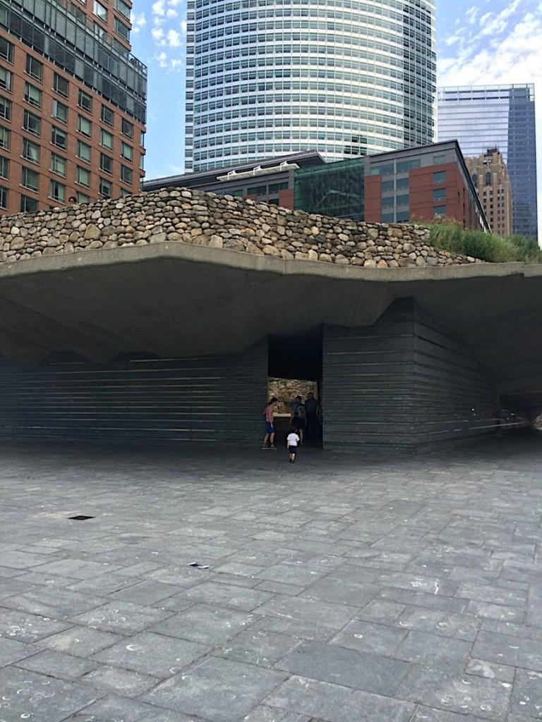 Irish Hunger Memorial entrance