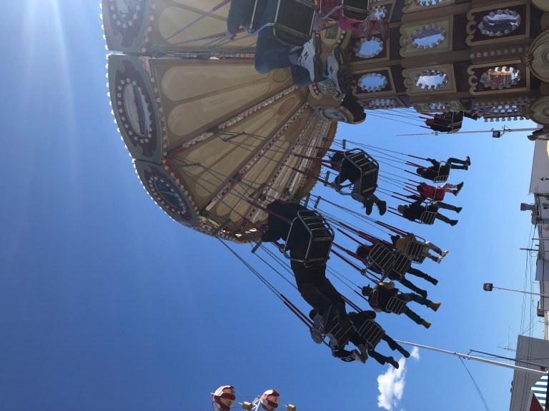 coney island on a budget swings ride