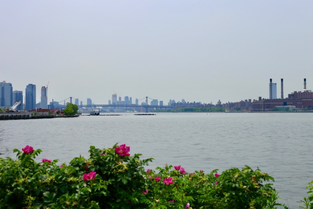view of Brooklyn from  Long Island City