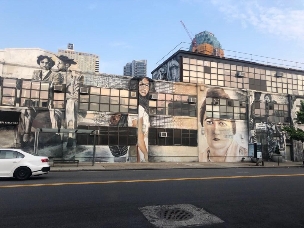 mural in Long Island City