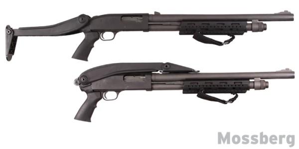 Shotforce Top-Folding Shotgun Stock, Marine Edition