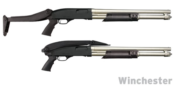 Shotforce Top-Folding Shotgun Stock, Marine Edition