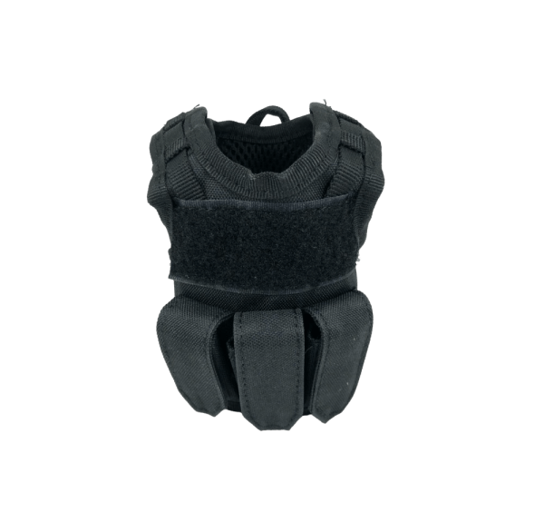 Black Tactical Vest Drink Cooler