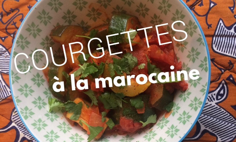 Courgettes à la marocaine