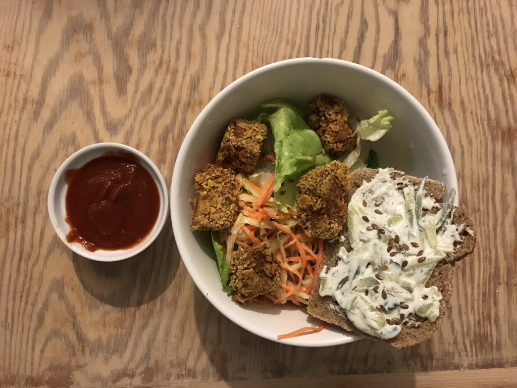 finger food - nuggets de tofu - recettes végétariennes et vegan - atirelarigot