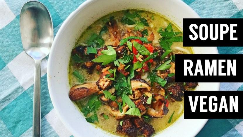 soupe ramen facile vegan recettes végétariennes et vegan - atirelarigot