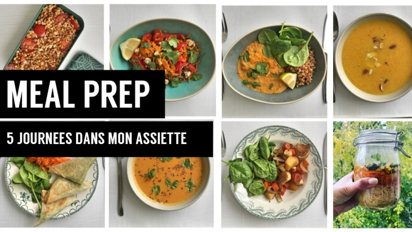meal prep vegan - recettes végétariennes et vegan - atirelarigot