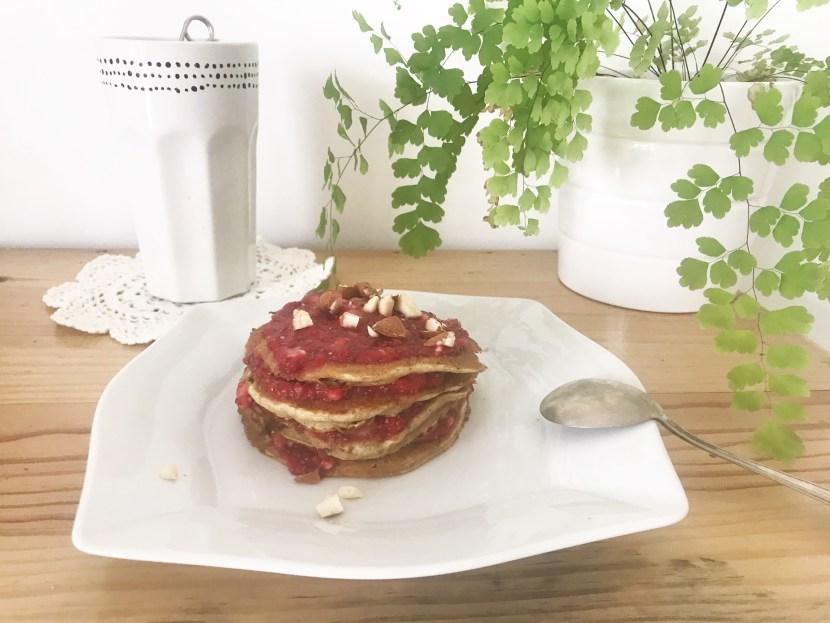 Pancakes à la banane - - recettes végétariennes et vegan - atirelarigot