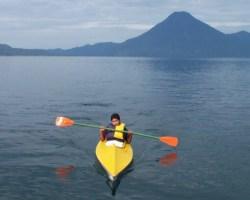 Kayaking Lake Atitlan