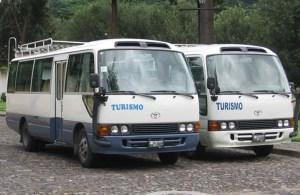 25-28 Passengers Bus