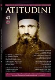 Coperta Revista Ortodoxa ATITUDINI nr. 43
