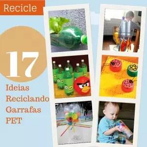 reciclagem garrafa pet