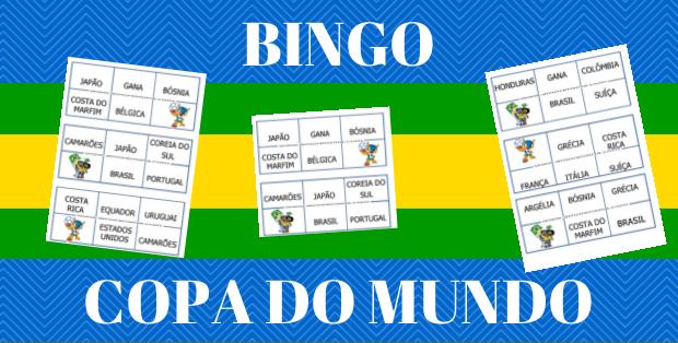 bingo copa do mundo