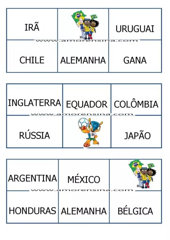 cartela bingo copa6