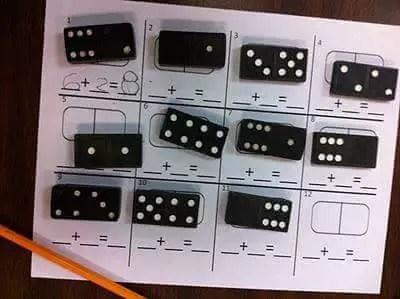 domino matematica