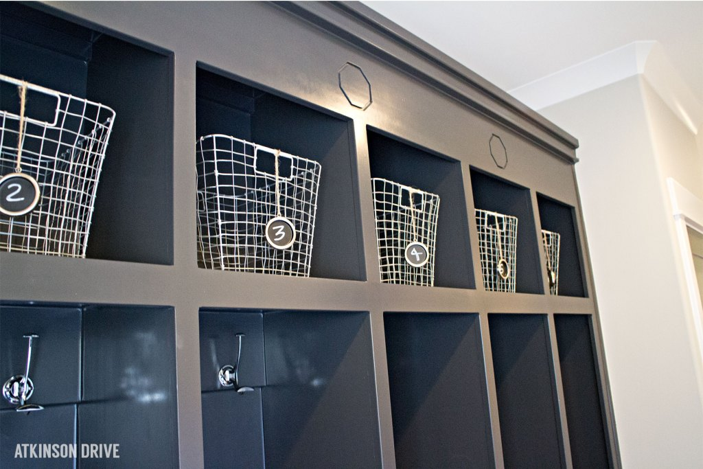 Home-a-Rama 2014: Mudroom with built-in storage| Atkinson Drive