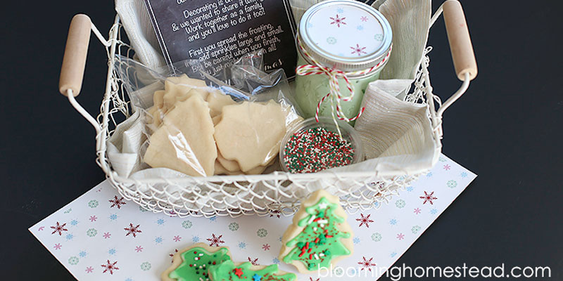 This Christmas cookie decorating kit is a great gift for the person on your list who has everything!
