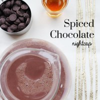 Spiced Chocolate Nightcap