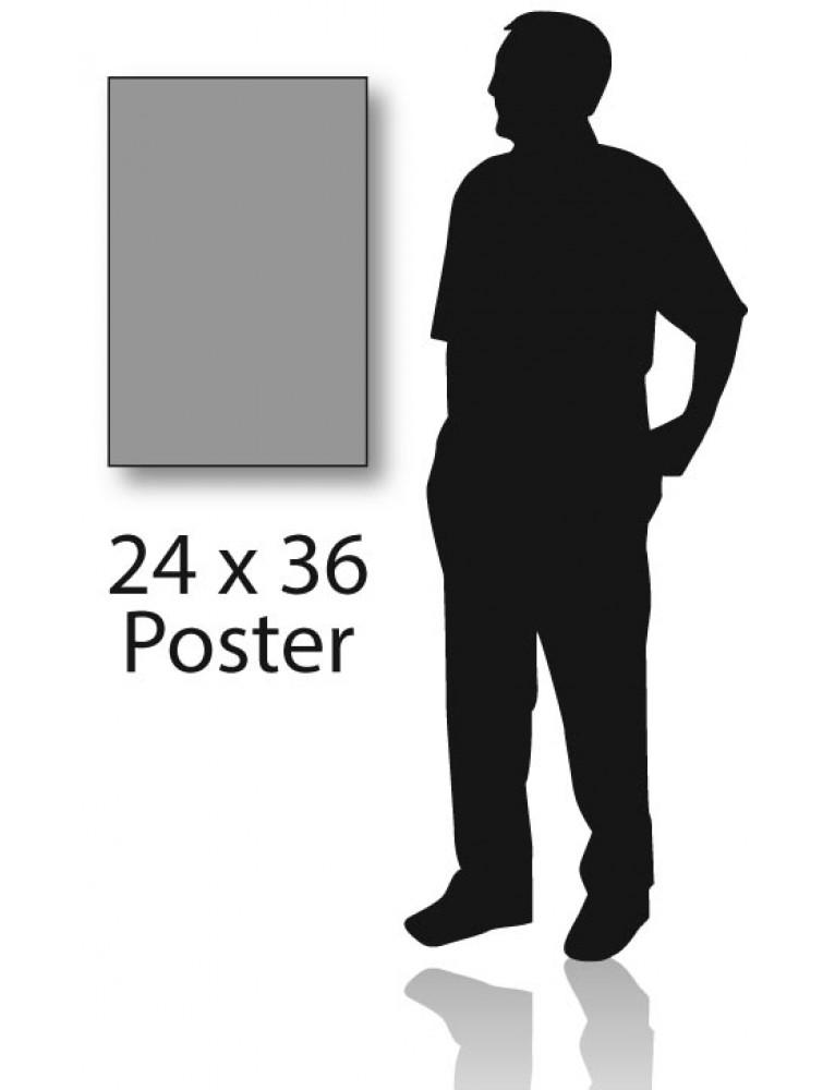 24 x 36 prints on 3 16 foam core