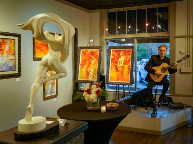 Witold Flamenco guitarist Atlanta
